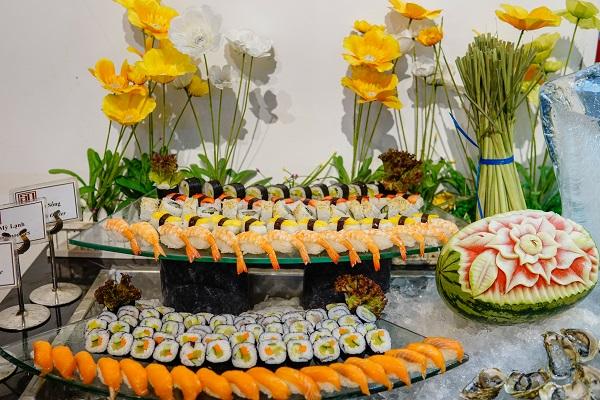 Ẩm thực Nhật luôn được chú ý đặc biệt